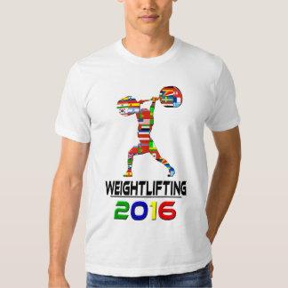 2016: Levantamiento de pesas Playera