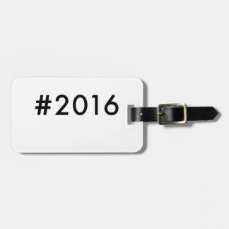 2016 LUGGAGE TAG