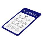 2016 Midnight Blue Calendar by Janz 4x6 Magnet