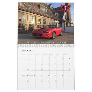 2016 MiFBody.com Calendar! Calendar