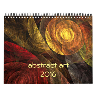 2016 Modern Abstract Art Calendar