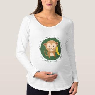 2016 monkey year maternity T-Shirt