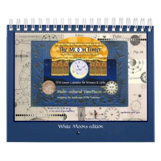 2016 MoonTimer Calendar WHITE MOONS edition