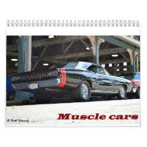 2016 Muscle Cars Calendar