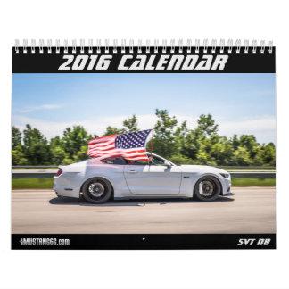2016 Mustang Calendar - mustang6.com