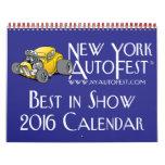 2016 New York AutoFest Calendar