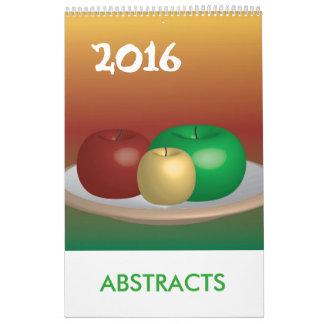 2016 o 20xx resume el calendario