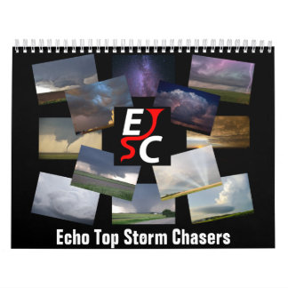 2016 Official Echo Top Storm Chasers Calendar