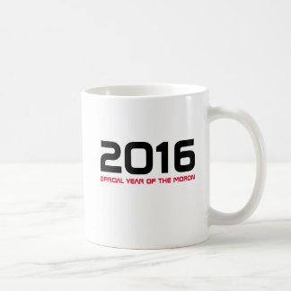 2016 Official Year of The Moron Mug