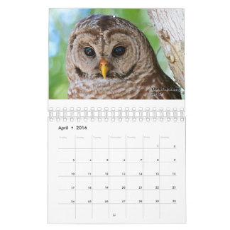 2016 OwlWatch Calendar