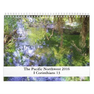 2016 Pacific Northwest Scripture Calendar