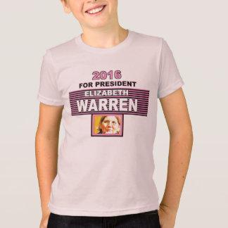 2016 para presidente Elizabeth Warren Playera
