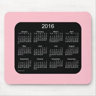 2016 Pink Calendar by Janz Mousepad