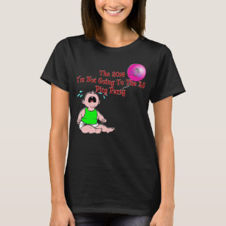 2016 Pity Party Ladies' Red Letter Tee