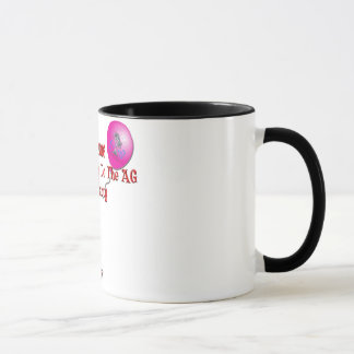 2016 Pity Party Ringer Mug - red letter