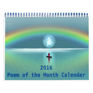 2016 Poem of the Month Calendar