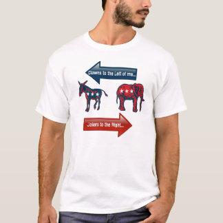 2016 Political View. Republican & Democrat VOTE! T-Shirt