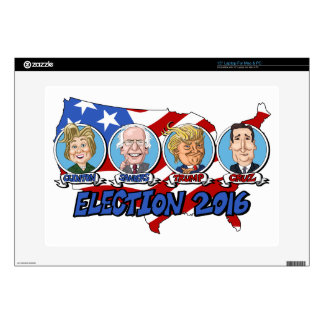 "2016 Presidential Election 15"" Laptop Decal"