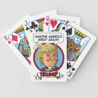 2016 Presidential Election Bicycle Playing Cards