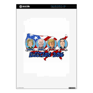 2016 Presidential Election Decals For The iPad 2