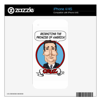 2016 Presidential Election Decals For The iPhone 4S