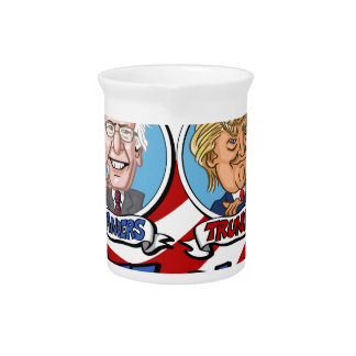 2016 Presidential Election Drink Pitcher