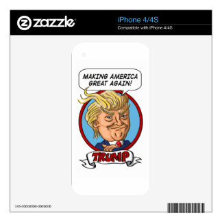 2016 Presidential Election iPhone 4S Decal