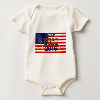 2016 Presidential Election Jeb Bush Baby Bodysuit