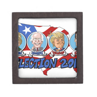 2016 Presidential Election Jewelry Box