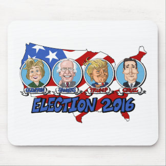 2016 Presidential Election Mouse Pad