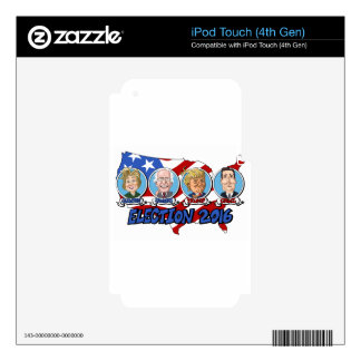 2016 Presidential Election Skin For iPod Touch 4G
