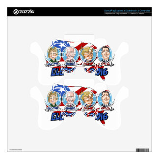 2016 Presidential Election Skin For PS3 Controller