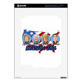 2016 Presidential Election Skins For iPad 3