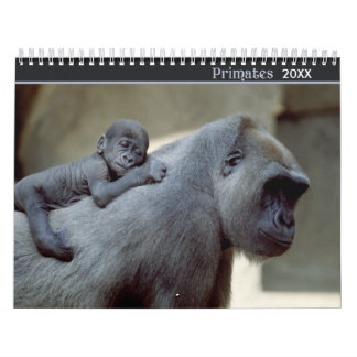 2016 Primates Wildlife Photography Calendar