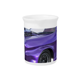 2016 Purple Muscle Car Beverage Pitcher