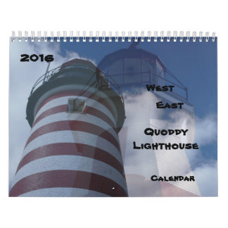 2016 Quoddy Lighthouses Calendar