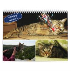 2016 Raising Mercury Calendar at Zazzle