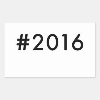 2016 RECTANGULAR STICKER