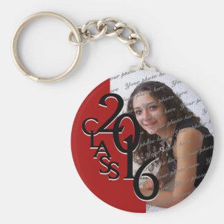 2016 Red Graduation Keepsake Keychain