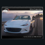 """2016 revlimiter.net Calendar<br><div class=""""desc"""">The official 2016 revlimiter.net Miata/MX-5/Roadster calendar! Featuring 13 of the hottest Mazda Roadsters on the planet.</div>"""