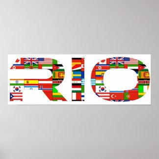2016: Rio Poster