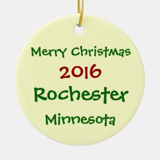 Rochester Minnesota Ornaments Keepsake Ornaments Zazzle