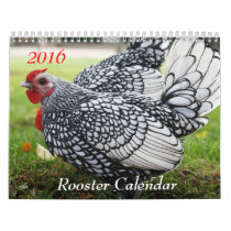 2016 Rooster Calendar