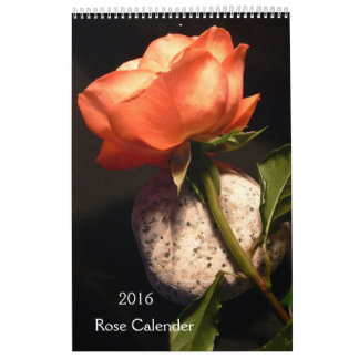 2016 Rose Calendar
