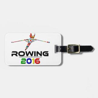 2016: Rowing Luggage Tag