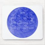 2016 Royal Blue Calendar by Janz Mousepad