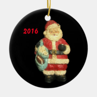 2016 SANTA WITH MAPS CHRISTMAS COLLECTOR ORNAMENT
