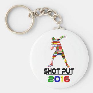 2016 Shotput Llaveros