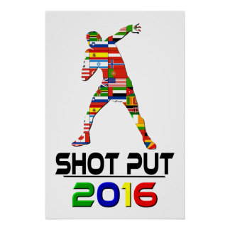 2016 Shotput Impresiones