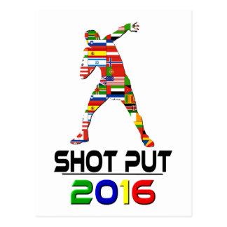 2016:Shotput Postcard